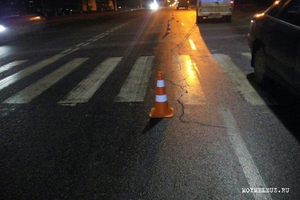 В результате аварии пешеход скончался до приезда скорой