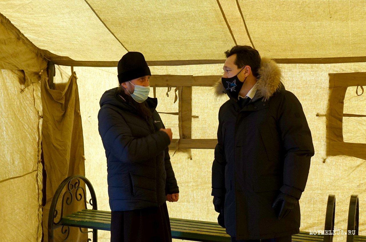 Дорогие мелеузовцы, в ночь с 18 на 19 января православные отмечают Крещение Господне.